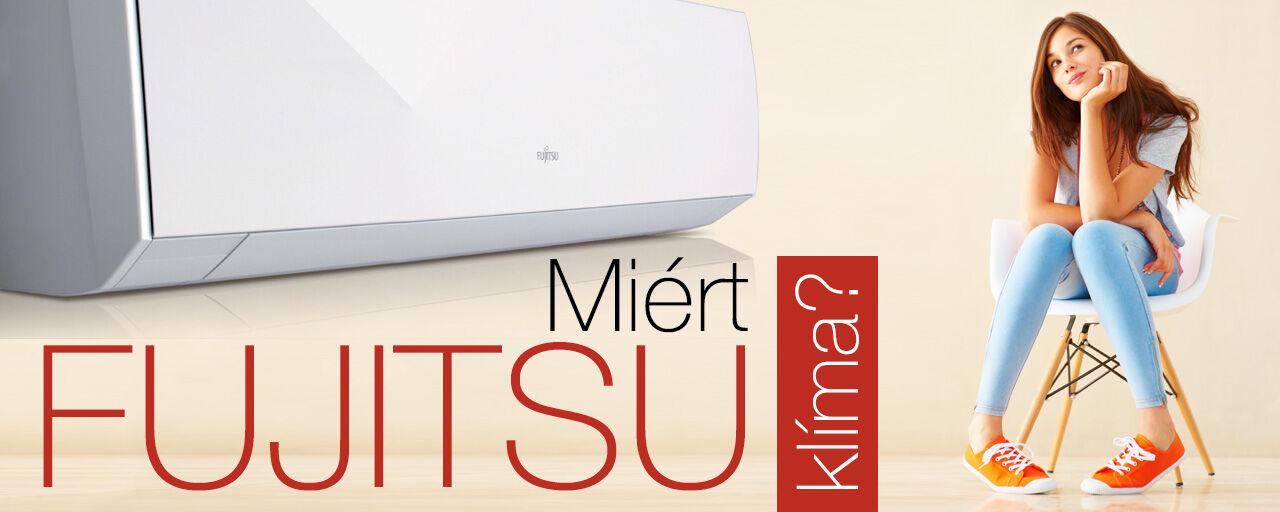 Fujitsu klímák