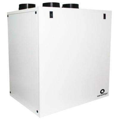Aerauliqa QR590E központi hővisszanyerős szellőztető entalpia hőcserélővel