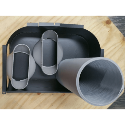 Fisher Double Duct Kit