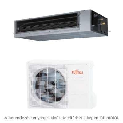 Fujitsu ARXG12KLLAP / AOYG12KBTB légcsatornás mono split klíma 3.5 kW