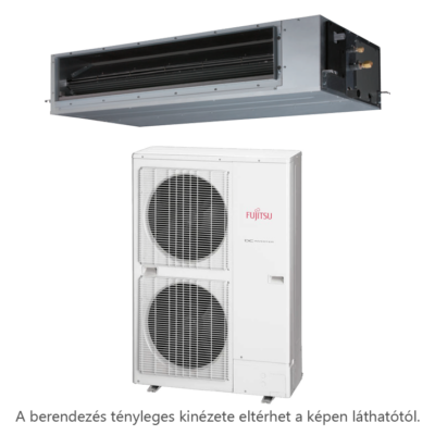Fujitsu ARXG45KHTA / AOYG45KBTB légcsatornás mono split klíma 12.1 kW