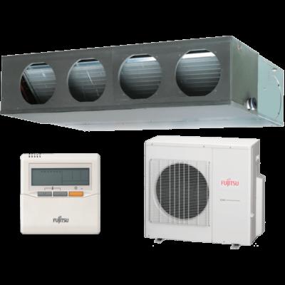 Fujitsu ARYG30LMLE / AOYG30LETL légcsatornás mono split klíma 8.5 kW