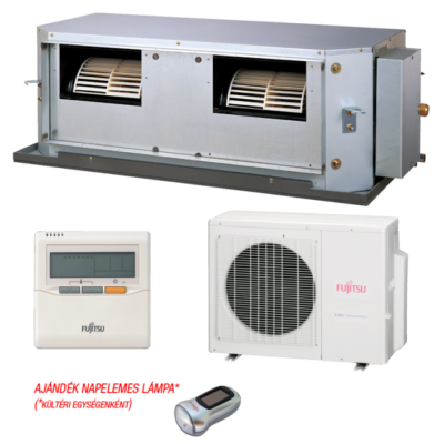 Fujitsu ARYG54LHTA / AOYG54LETL légcsatornás mono split klíma 13.4 kW
