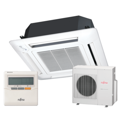 Fujitsu AUYG45LRLA / AOYG45LETL kazettás mono split klíma 12.5 kW