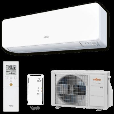 Fujitsu Design ASYG14KGTA / AOYG14KGCA oldalfali mono split klíma 4.2 kW