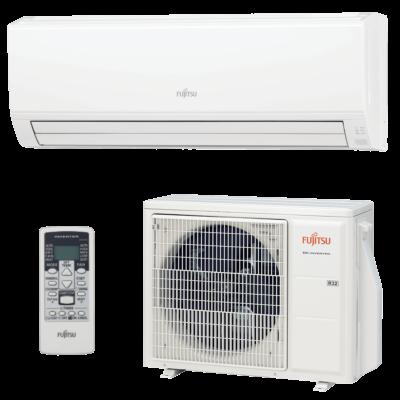 Fujitsu Eco ASYG18KLCA / AOYG18KLTA oldalfali mono split klíma 5.2 kW