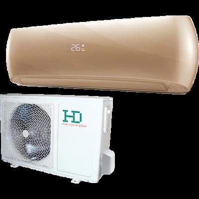 HD Design HDWI-DSGN-90C-GOLD / HDOI-DSGN-90C oldalfali mono split klíma 2.5 kW