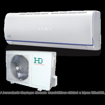 HD Maximus HDWI-MAXIMUS-124C / HDOI-MAXIMUS-124C oldalfali mono split klíma 3.5 kW