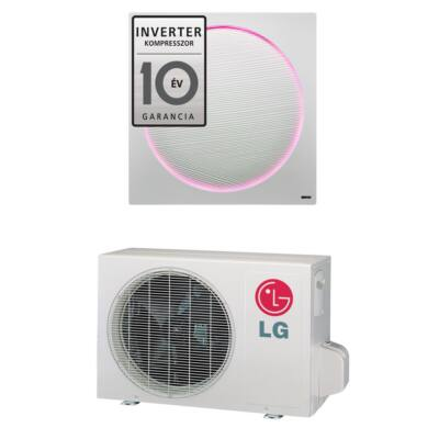 LG ArtCool Stylist G12WL oldalfali mono split klíma 3.5 kW