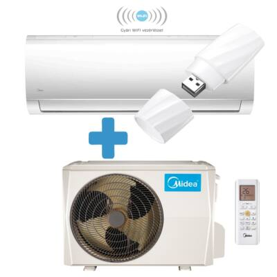 Midea Blanc MA-18N8D0-SP / MA-18NXD0-I / MA-18N8D0-O oldalfali mono split klíma 5.3 kW