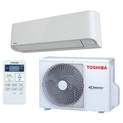 Toshiba Mirai RAS-B10BKVG-E / RAS-10BAVG-E1 oldalfali mono split klíma 2.5 kW