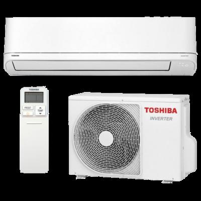 Toshiba Suzumi Plus RAS-B10PKVSG-E / RAS-10PAVSG-E oldalfali mono split klíma 2.5 kW