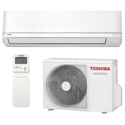 Toshiba Suzumi Plus RAS-B16PKVSG-E / RAS-16PAVSG-E oldalfali mono split klíma 4.6 kW