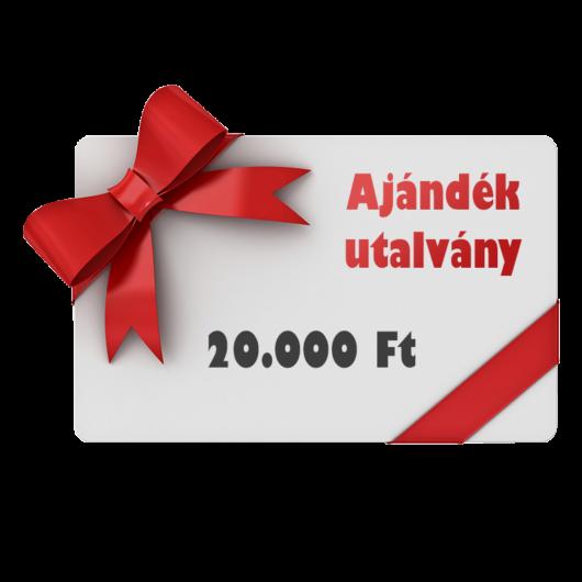 Ajándék utalvány 20000 Ft