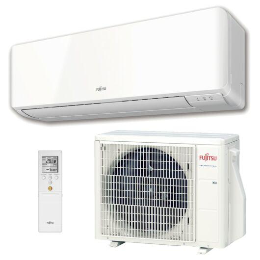 Fujitsu Standard ASYG24KMTA / AOYG24KMTA oldalfali mono split klíma 7.1 kW