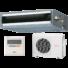 Kép 1/3 - Fujitsu ARYG14LLTB / AOYG14LALL légcsatornás mono split klíma 4.3 kW